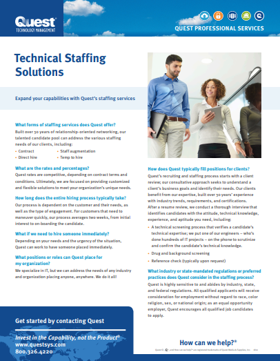 Technical Staffing 1